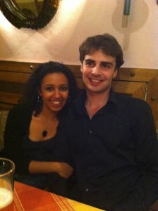 With Daniel, my boyfriend and Duo Pianissimo partner!