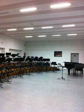 Choir rehearsal room @ Maestranza