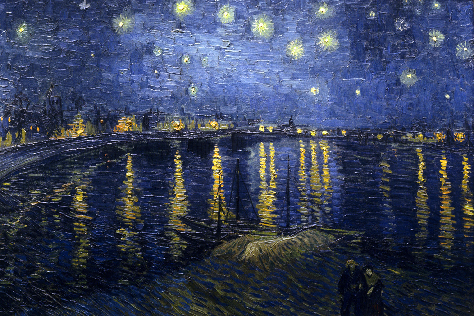 Starry Night Over the Rhone – Vincent van Gogh